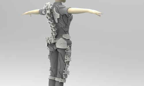 suitX推出了一种新型外骨骼 供医护人员使用