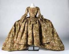 浴室的时装博物馆展出18世纪的时尚