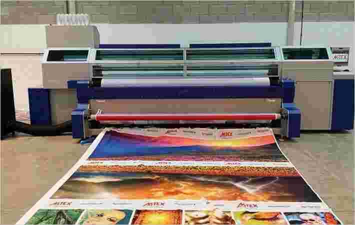MTEX在英国世博会上给出了数字视觉打印机的演示