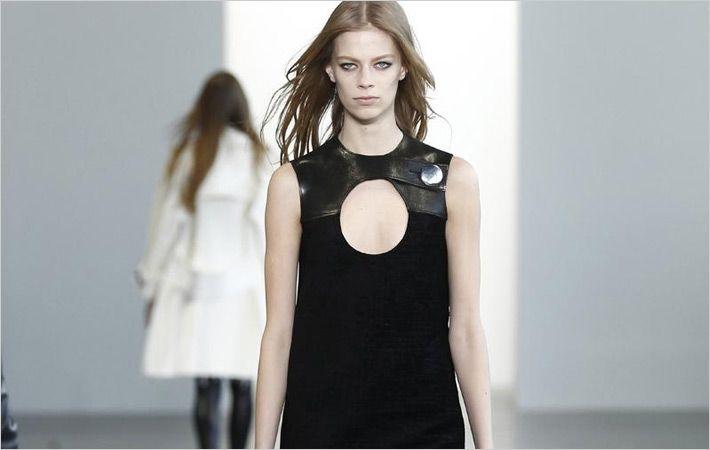 纽约FW的Calvin Klein的秋季2015年秋季跑道展