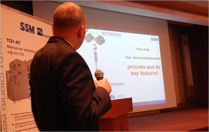 SSM和Heberlein组织韩国客户的研讨会