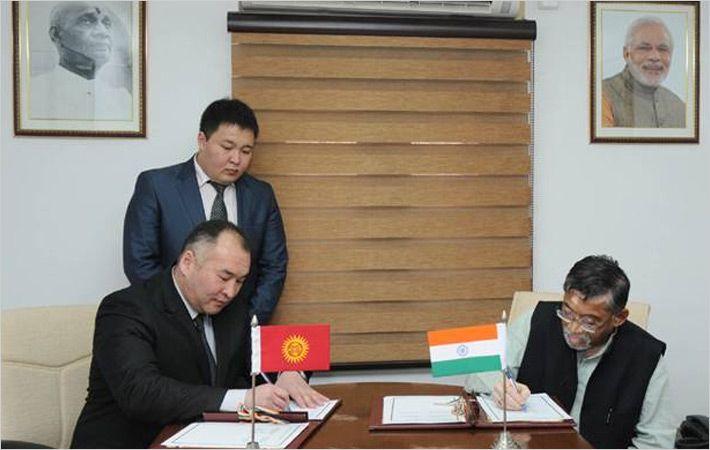 印度,吉尔吉斯斯坦签署纺织部门合作