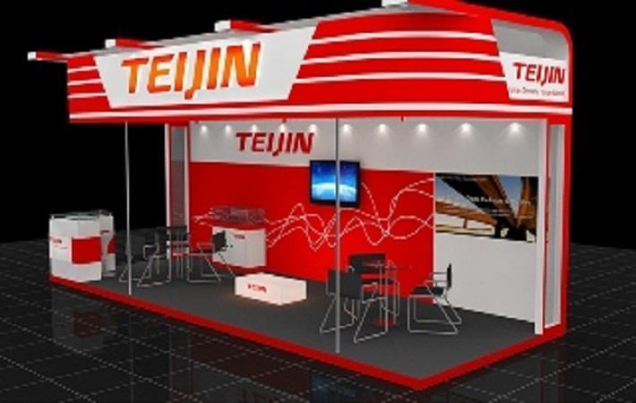 Teijin展示在户外零售商夏季市场